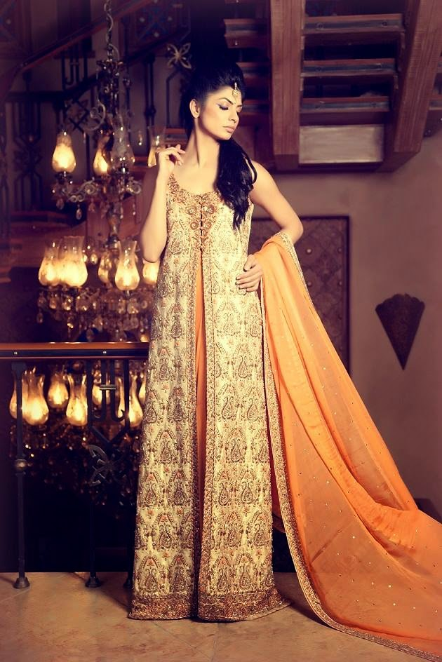 Mifrahs Bridal Dress 2015 Collection