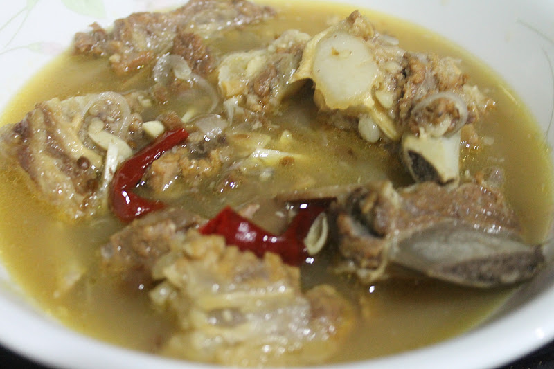 Singgang Tulang Lembu - Azie Kitchen
