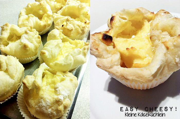 Easy Cheesy! Kleine Käseküchlein