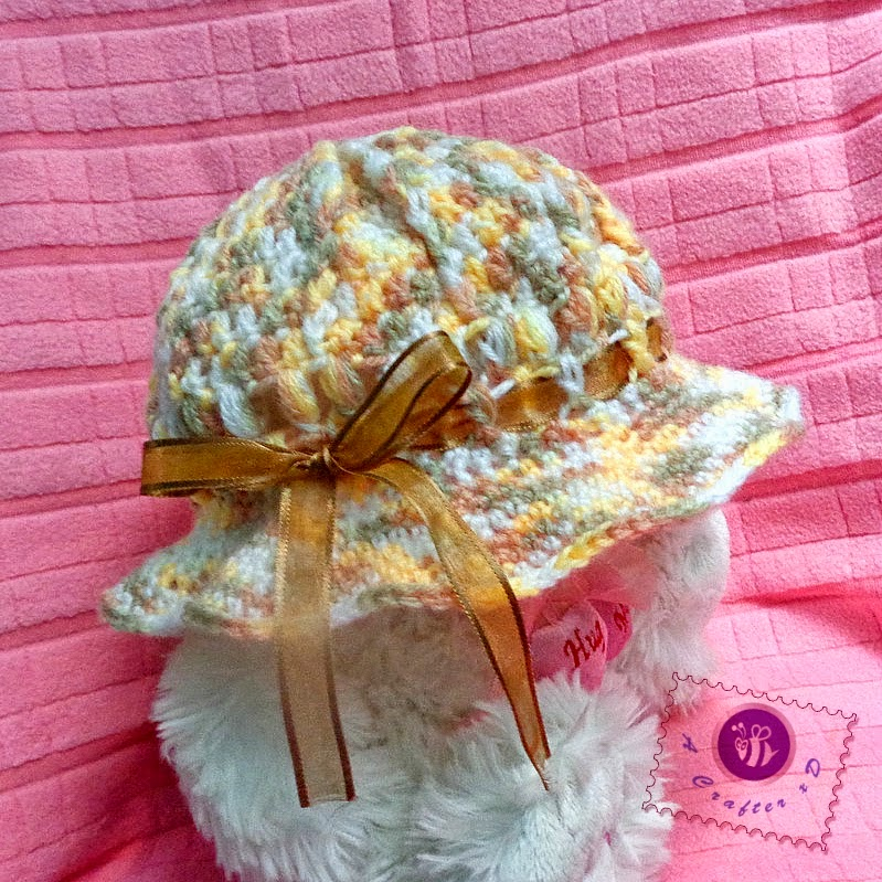 Totally Tutorials: Tutorial - How to Crochet a Childs Hat