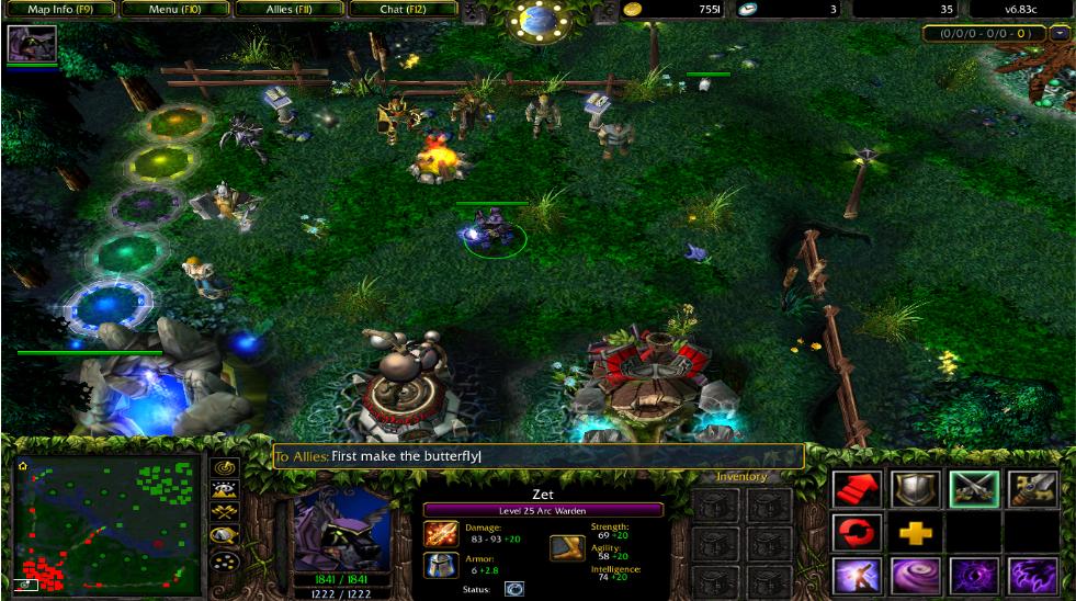 Dota-Utilities Dota Map on