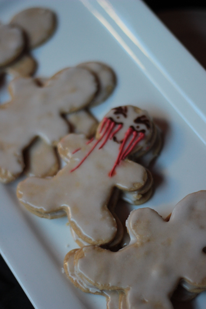scary gingerbread