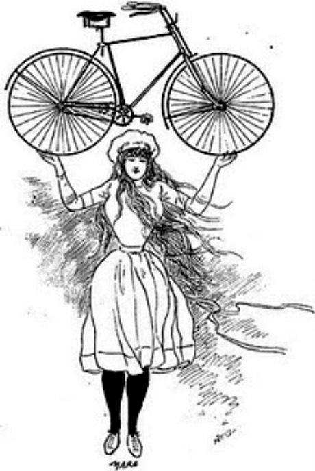 the bicycle as symbol of freedom