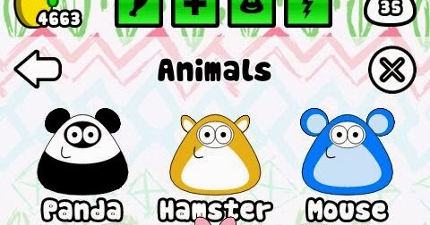 Cheats and Tricks for Pou: New oufits, ladybug and butterfly
