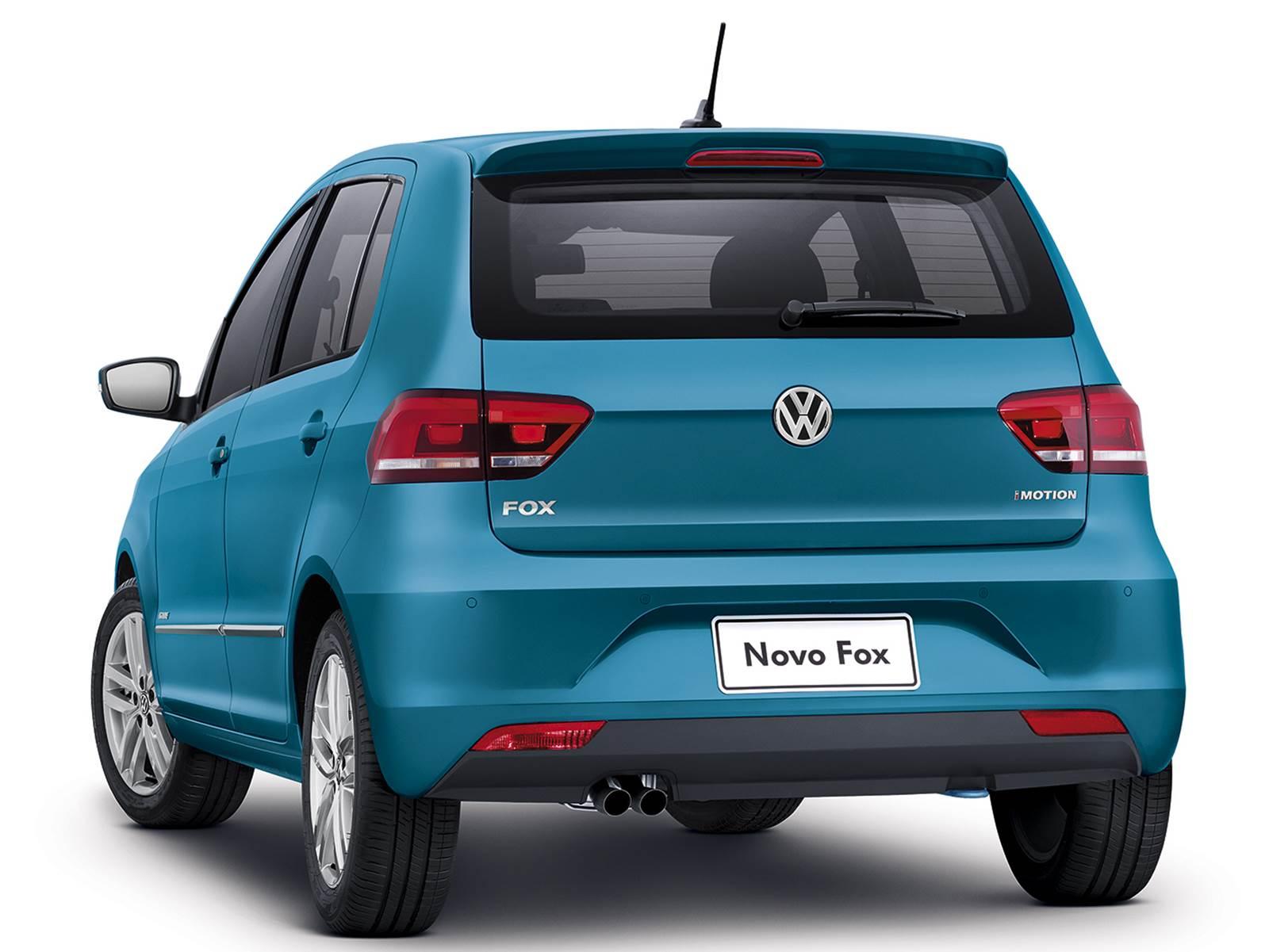 novo VW Fox 2015 - segundo carro mais vendido do Brasil