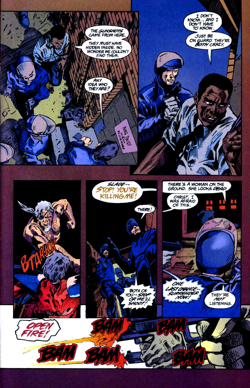 Deathstroke (1991) Annual 4 #4 - English 34