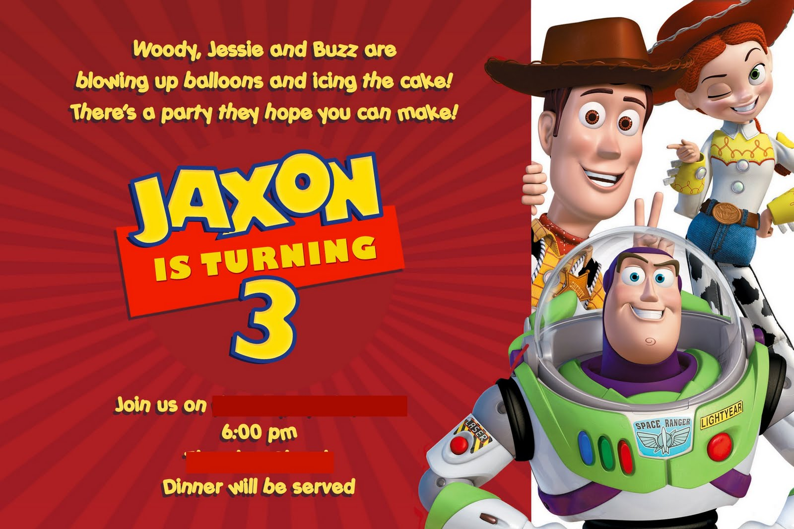 It\'s Always Craft Time: Toy Story 3 Party