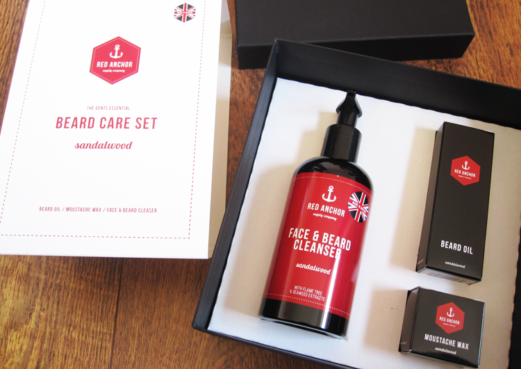 Red Anchor The Gents Essential Beard Care Set