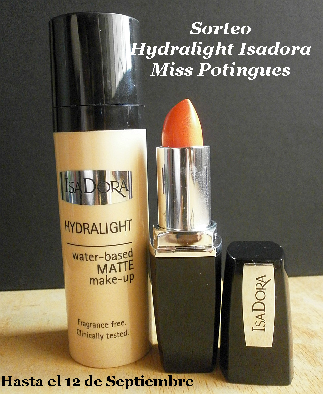 Sorteo Isadora Hydralight Miss Potingues