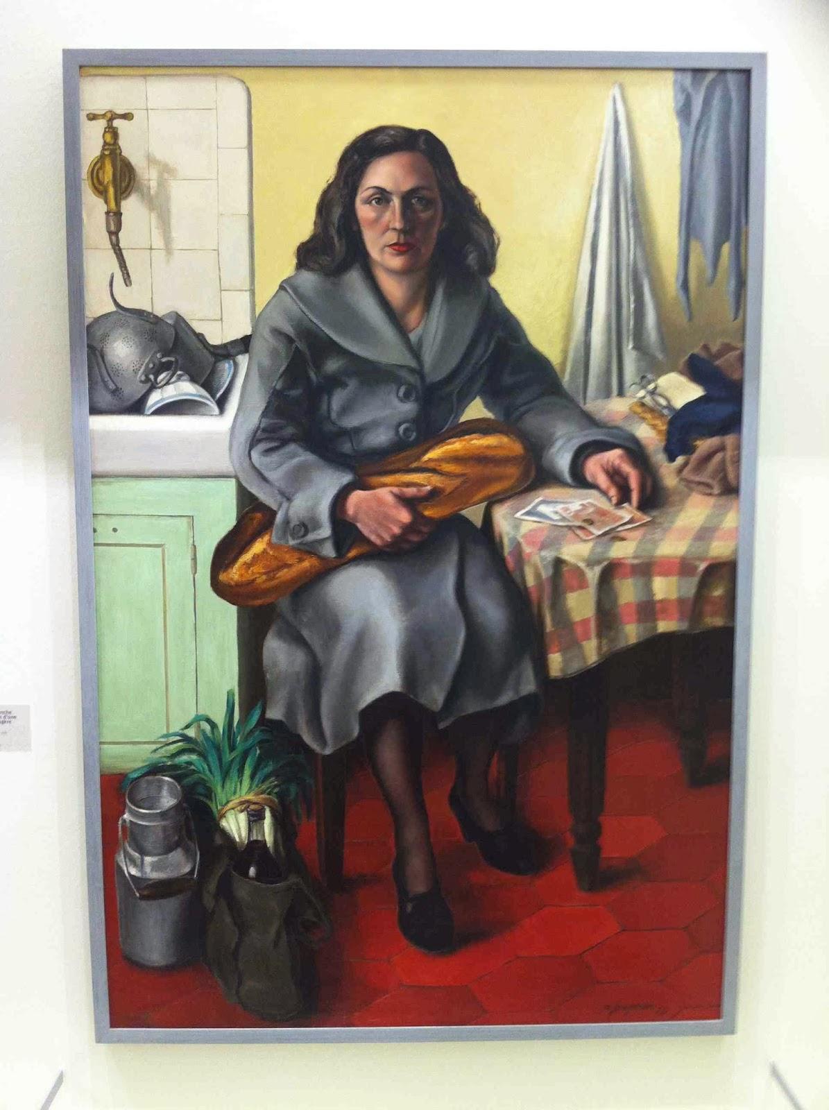 Fougeron, Dimanche matin d'une ménagère