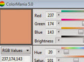 ColorMania color picker app for developers