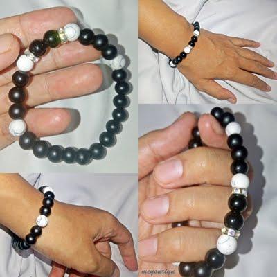 Survey Stone Gems Bracelet