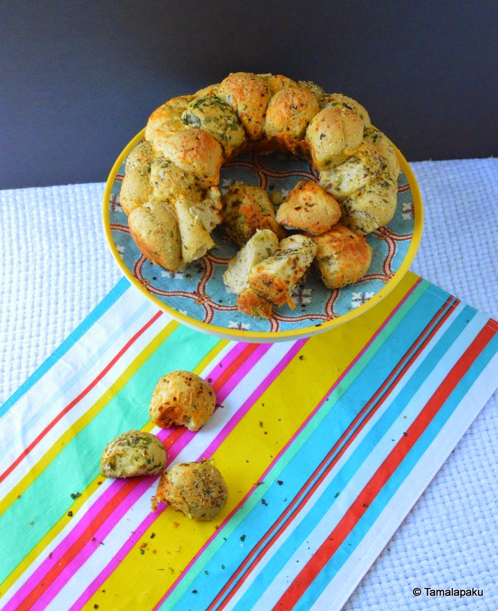 Herb And Cheese Monkey Bread