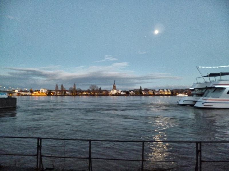 Bonn Rhine River