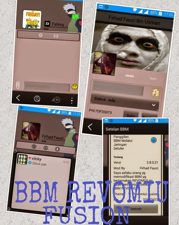 BBM MOD REVOMIUI FUSION 2.8.0.21 APK