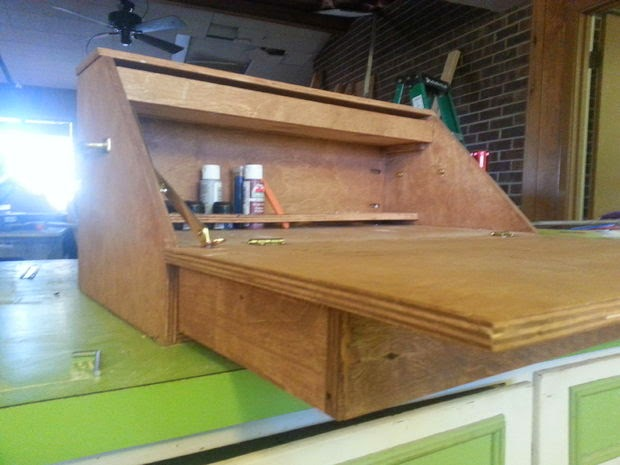 This One Reminds Me Of The Old Portable Writing Desk S. I Like That It Has  Draw For Storage But That This Is Under The Work Surface Is Going To Be ...