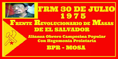 FRM 30 DE JULIO 1975 FRENTE REVOLUCIONARIO DE MASAS