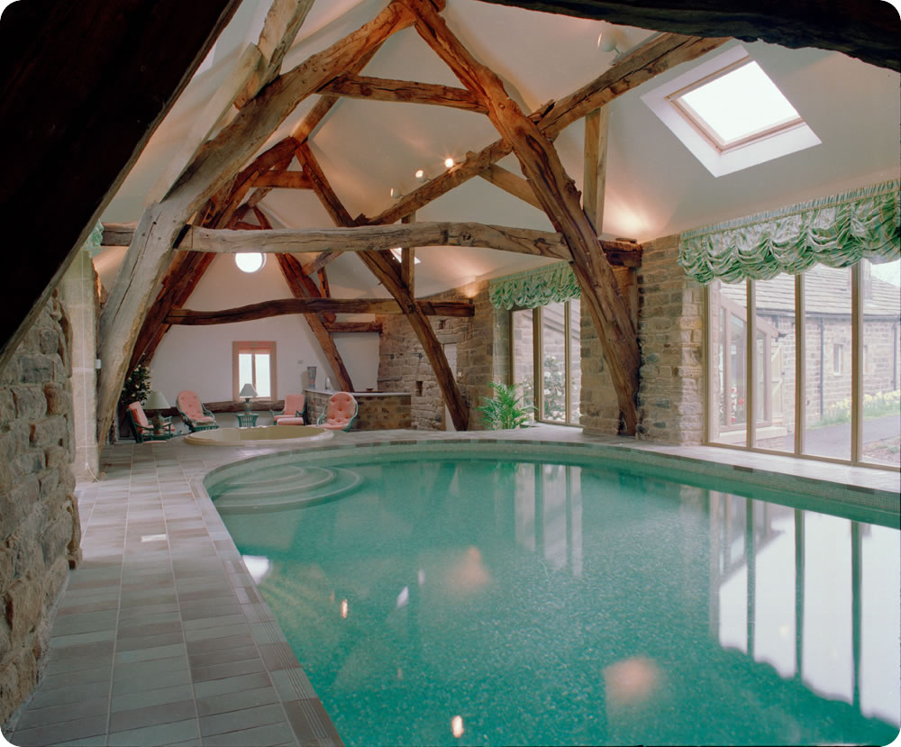 Indoor swimming pool designs swimming pool design for Private indoor swimming pools