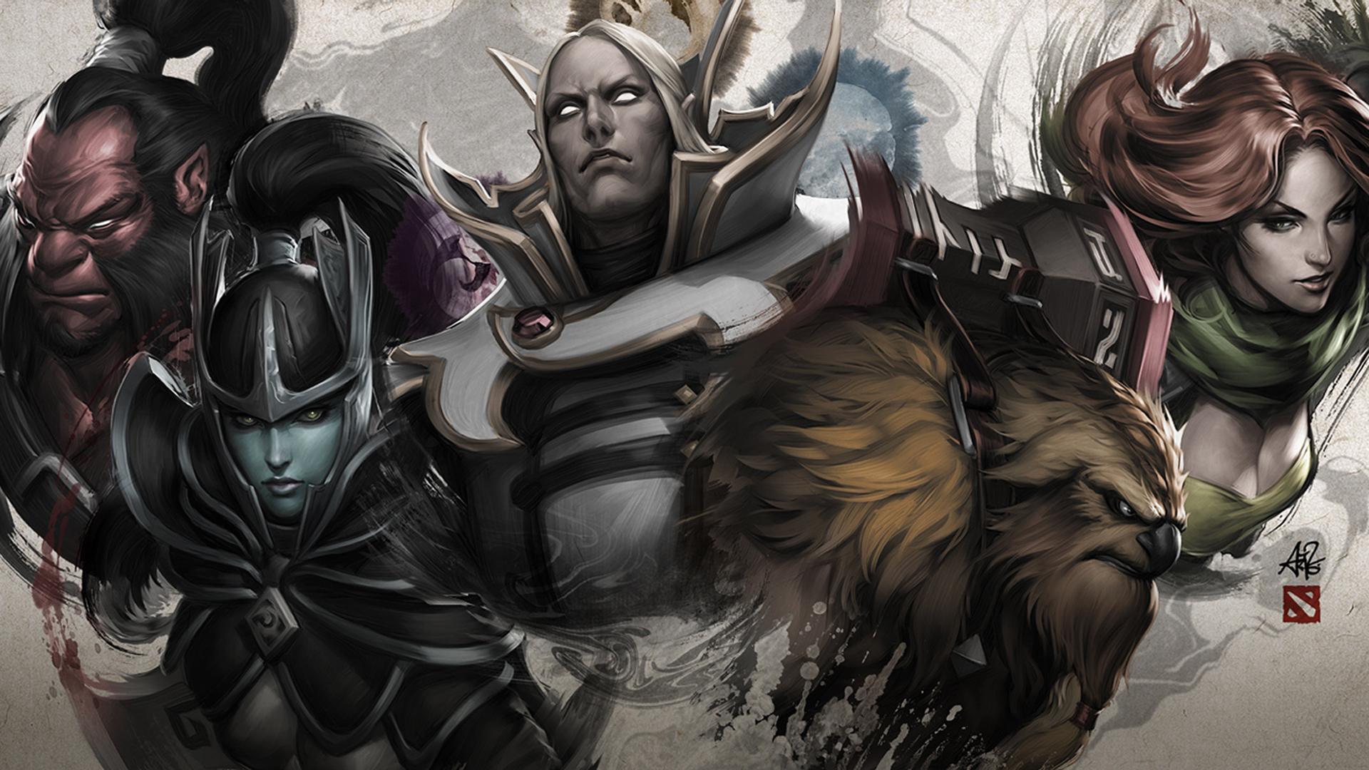 Name Dota 2 Heroes Axe Mortred Invoker Earthshaker Windrunner