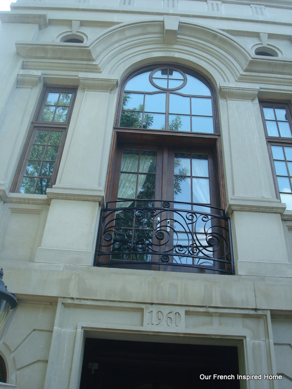 Our french inspired home french home exteriors french for What is a french balcony