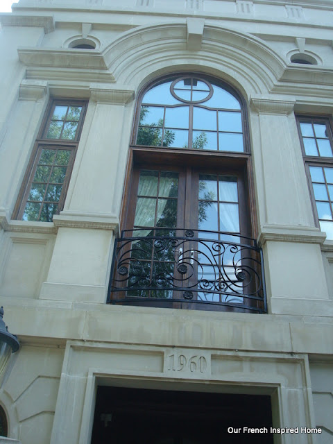 Our french inspired home july 2012 for French juliet balcony