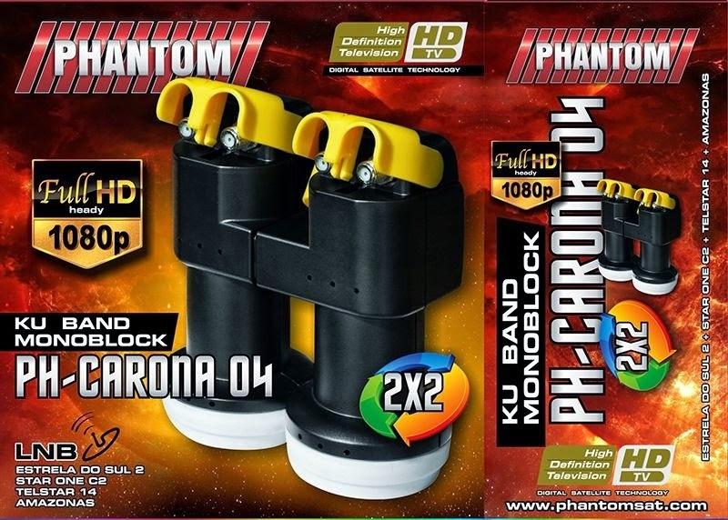 lnb ph carona 2x2