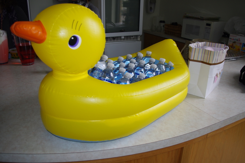 Yellow Duckies Cake