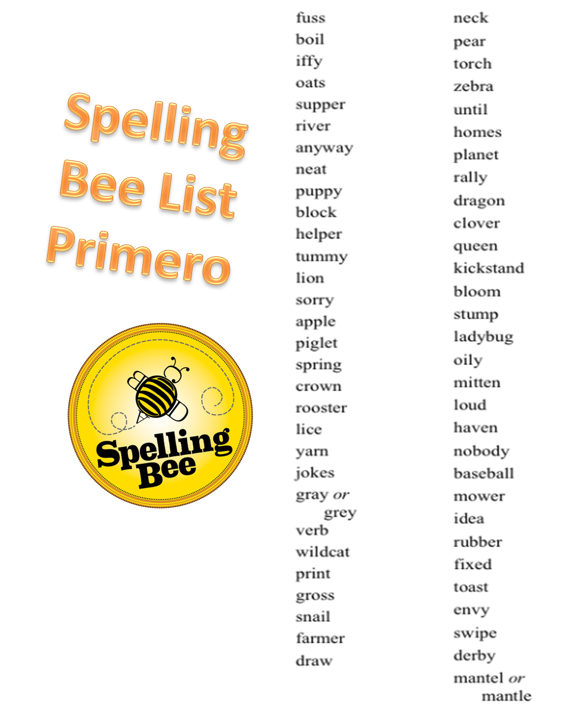 challenge spelling bee english 5th grade spelling words, spelling bee words, and vocabulary list list #: 3067 keywords/tags: spelling bee, 5th, elementary school, 5th grade spelling words, vocabulary word list, spelling word list 5th grade, word list for fifth grade, words 5th graders should know, spelling bee words for 5th grade.