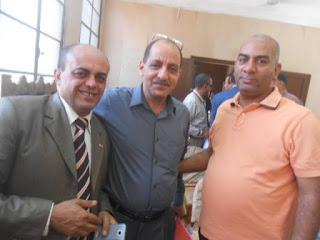 رأفت السنباوى , صلاح مسعود , خالد العمدة