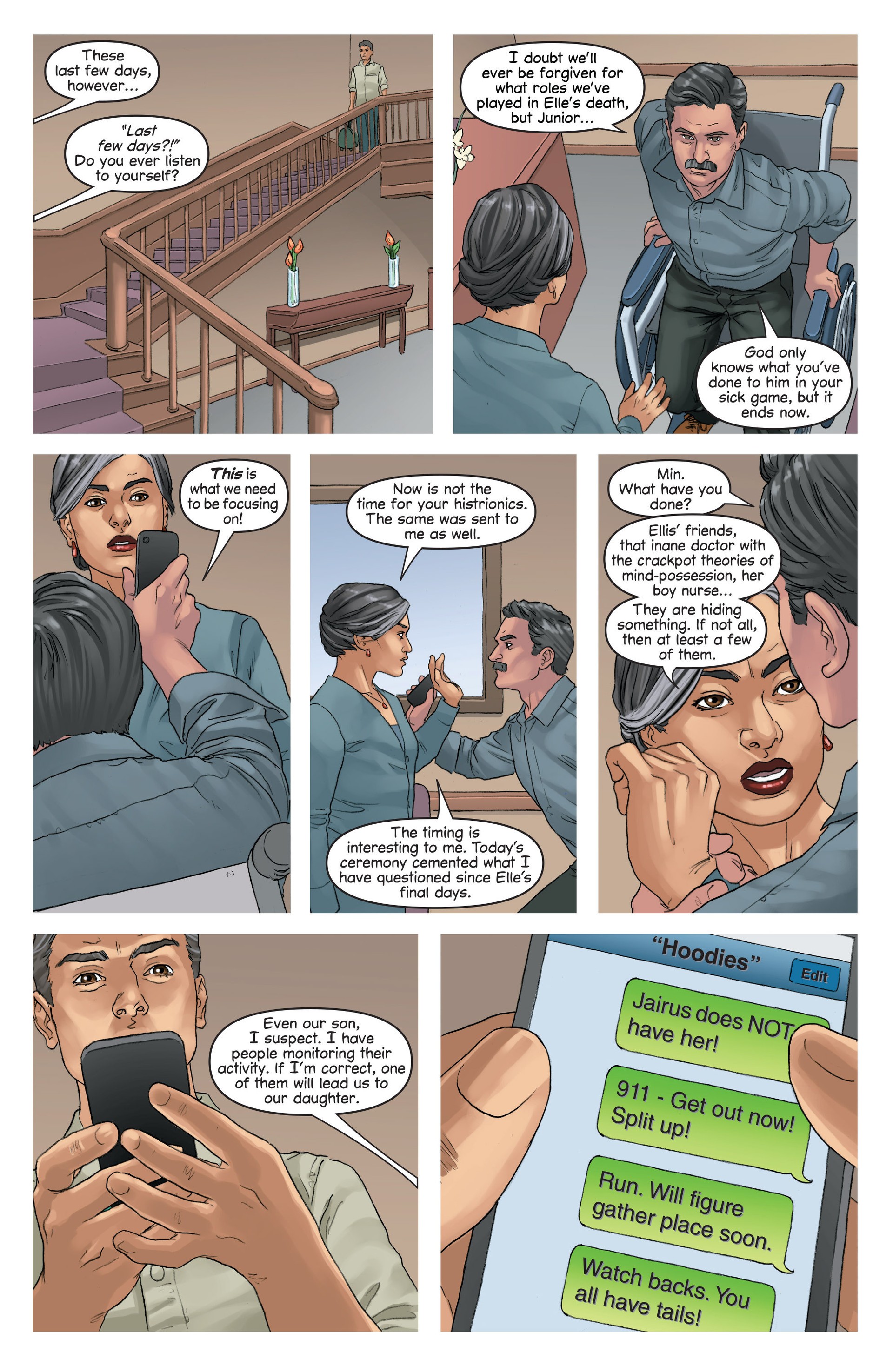 Read online Mind The Gap comic -  Issue #16 - 20