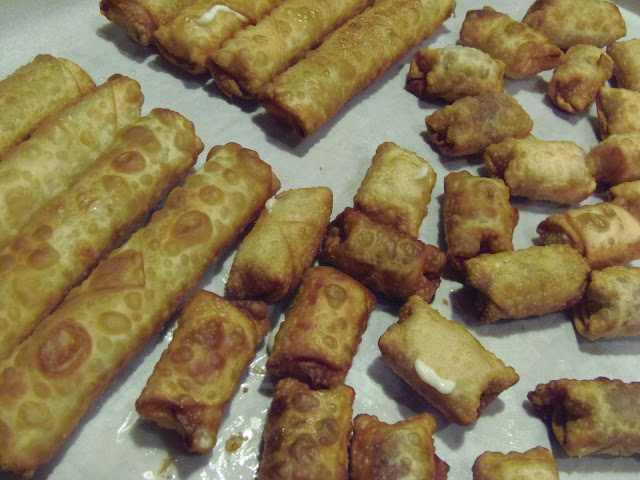 String Cheese Egg Rolls Recipe