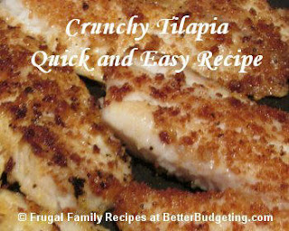 This is a great recipe for Tilapia!
