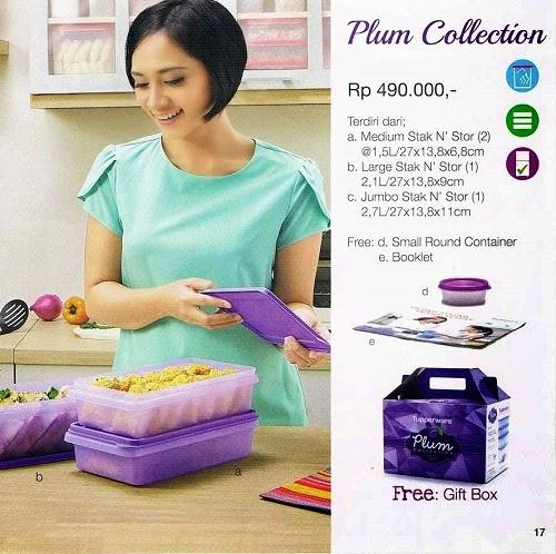 Plum Collection Tupperware Promo November 2014