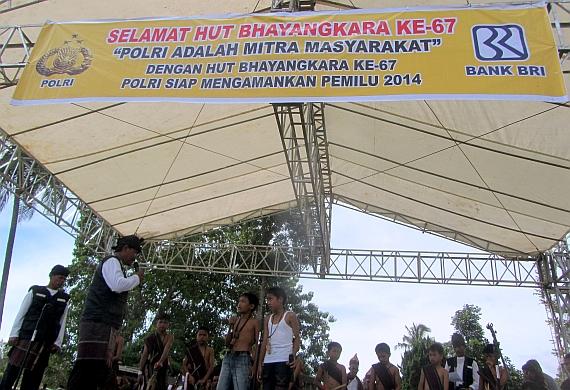 HUT Bhayangkara Polres Samosir