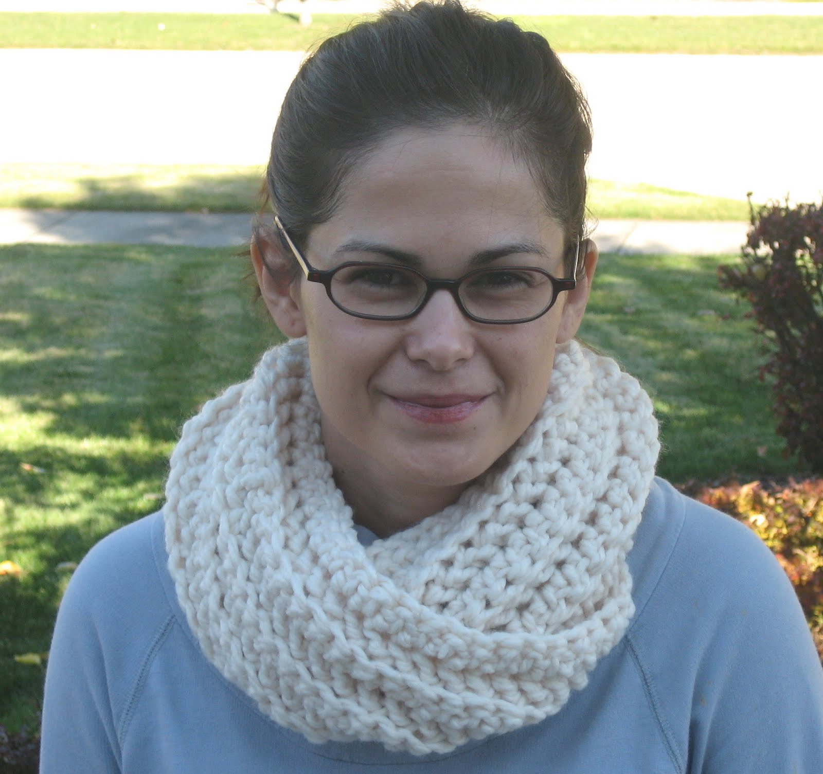 Crochet n play designs my favorite free crochet patterns chunky cowl my favorite free crochet patterns chunky cowl bankloansurffo Gallery