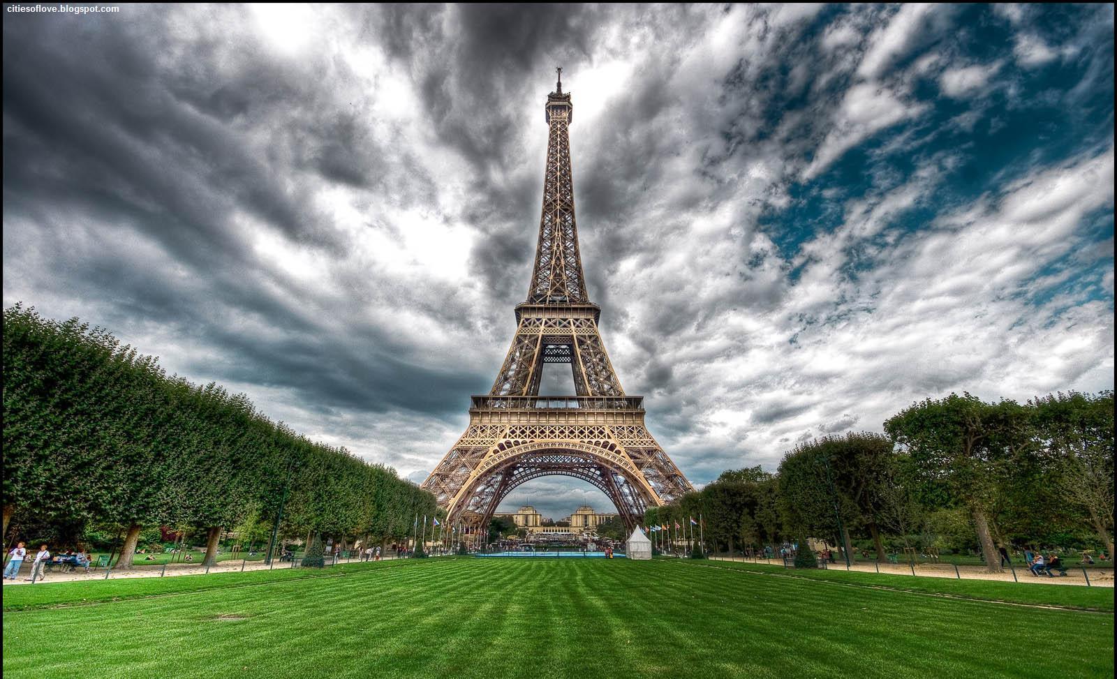 Paris Eiffel Tower France Wonderful And Magical Ambiance Hd