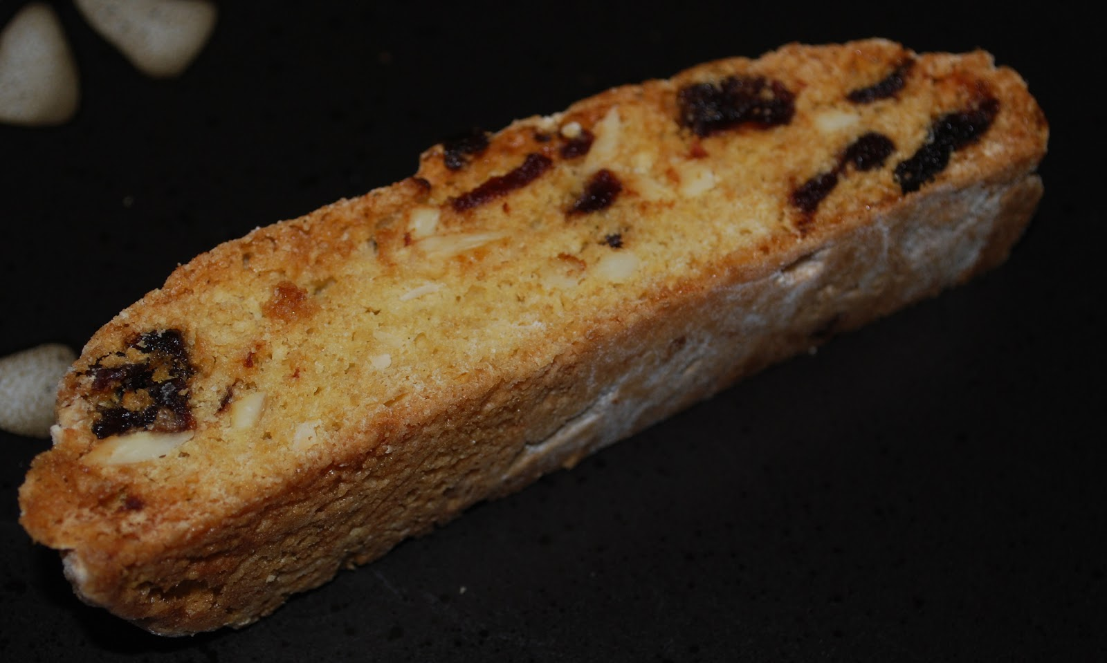 Carrie's Experimental Kitchen: Cherry Almond Biscotti