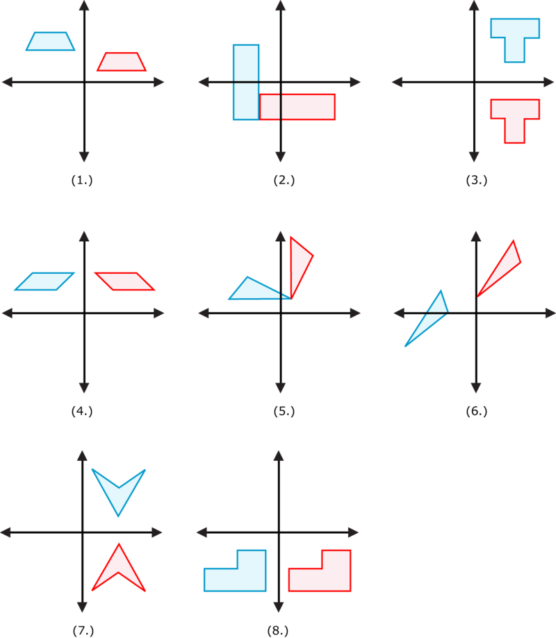 Congruence Transformation Worksheet Davezan – Maths Rotation Worksheets