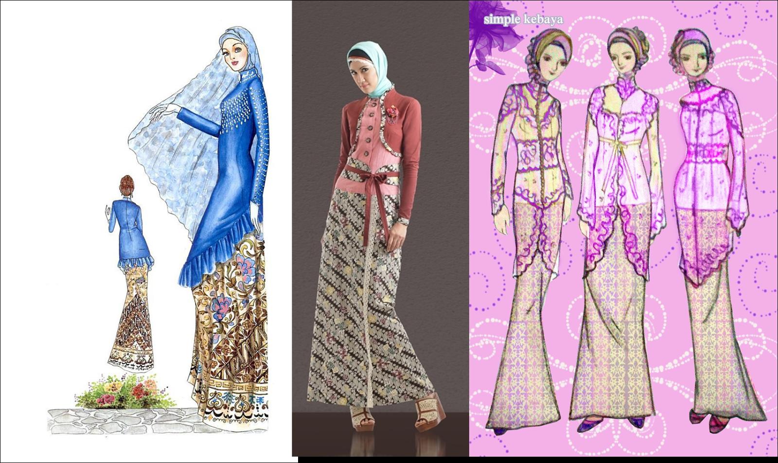 Model kebaya muslim modern juga banyak di minati untuk acara yang lebih  sakral atau untuk pernikahan. Untuk itu kesempatan ini saya ingin berbagi  desain ... fc3b251080