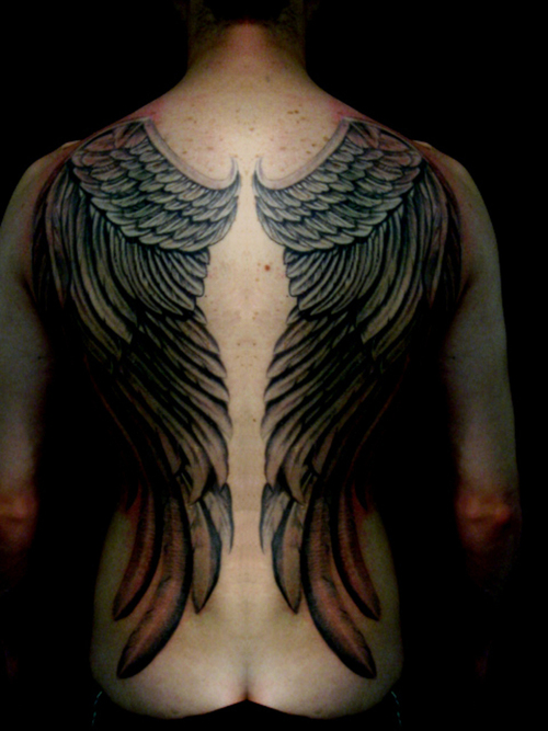 angel demon wing tattoos hot girls wallpaper. Black Bedroom Furniture Sets. Home Design Ideas