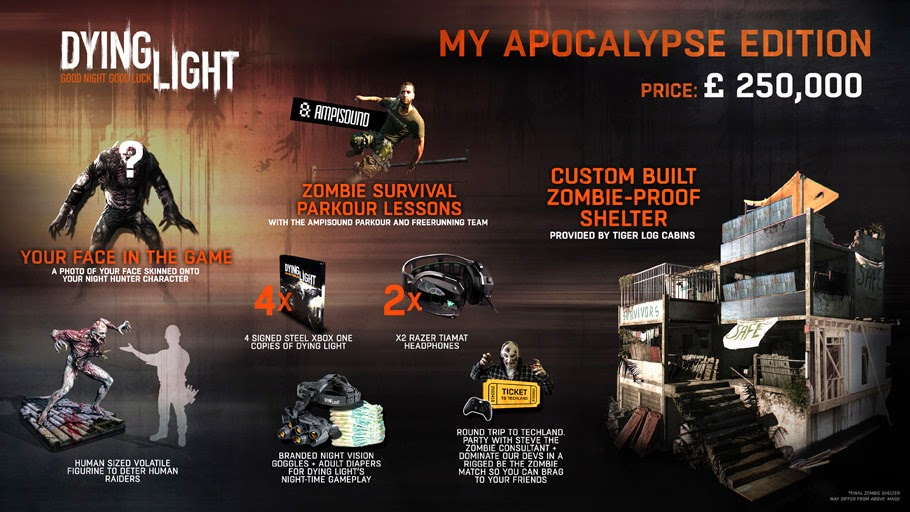 Dying Light: APOCALYPSE EDITION - Only at GAME.co.uk