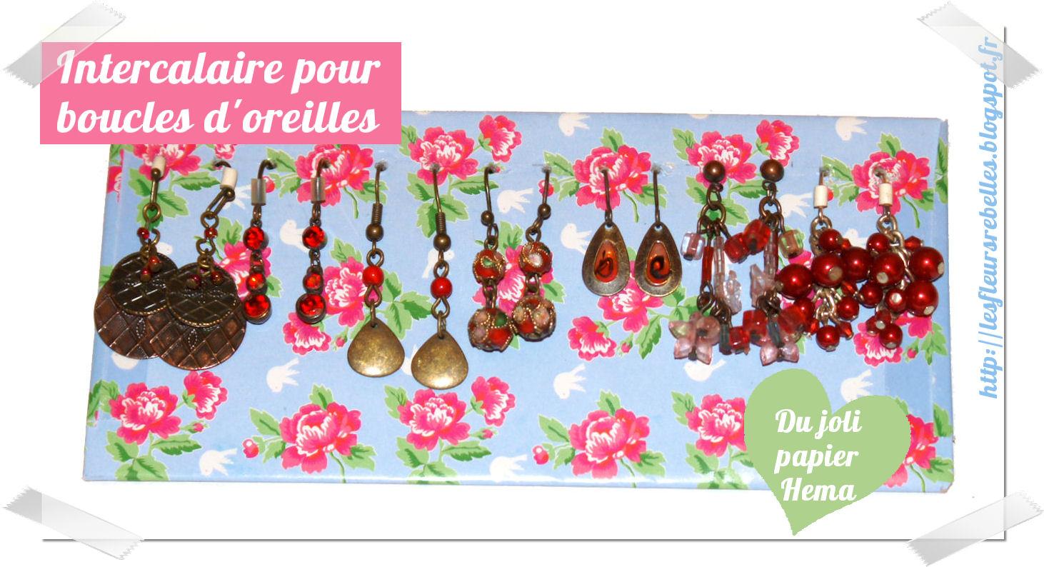 Les fleurs rebelles blog lifestyle diy diy un joli - Rangement boucles d oreilles ...