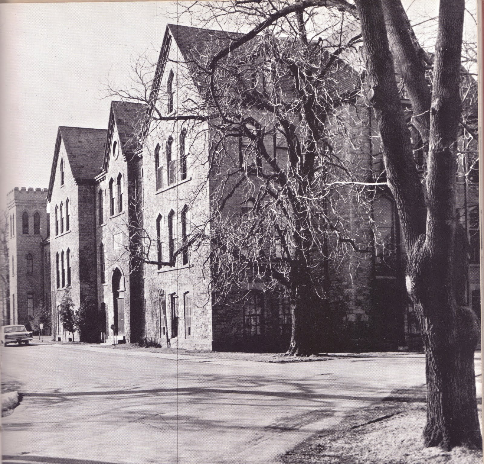 New york niagara county niagara university - The Picture Above Is From About 1961 And I Copied It From My Senior Yearbook It Shows The Three Interconnected Primary Buildings At Deveaux School