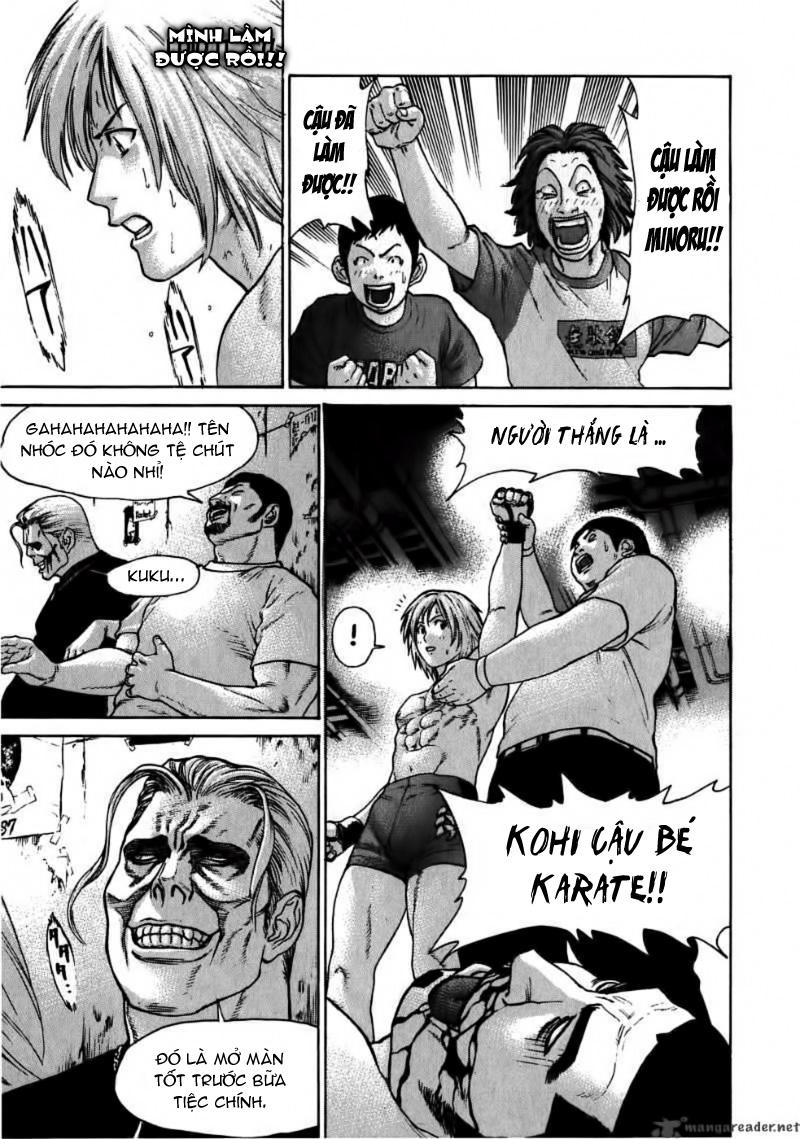 Karate Shoukoushi Kohinata Minoru chap 58 Trang 17