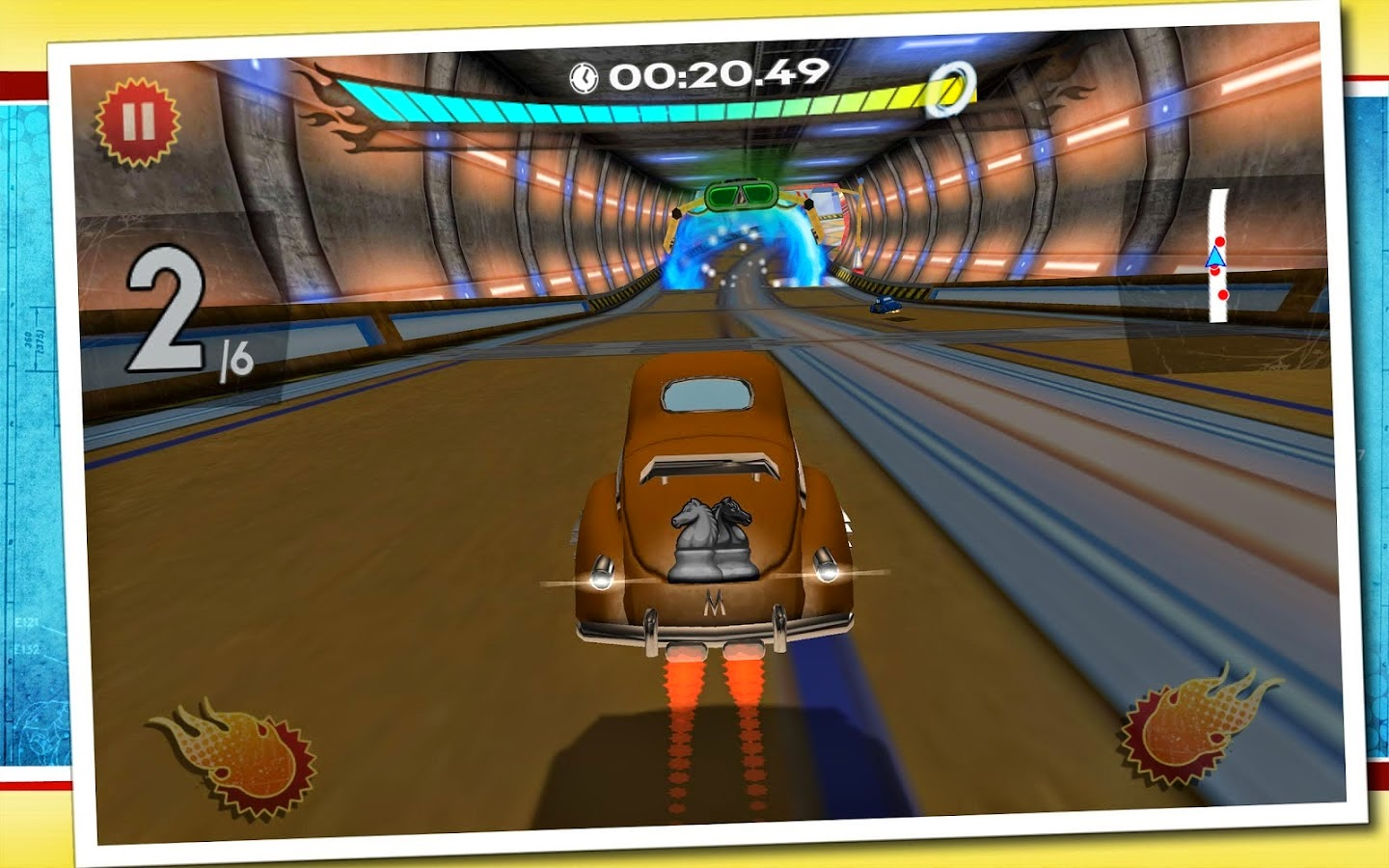 Retro Future Racing v1.0.1 [Mod Money] APK+DATA