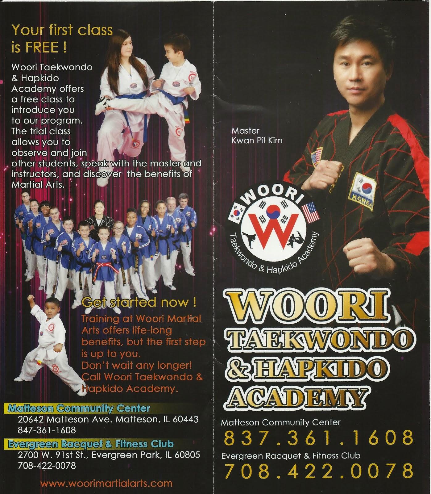 Woori Taekwondo & Hapkido Academy
