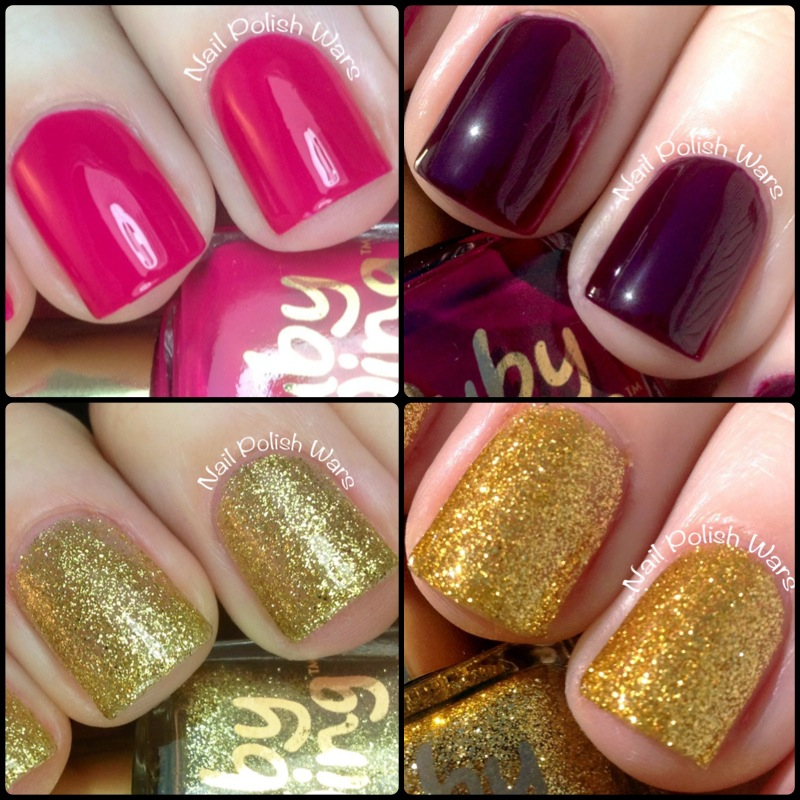 Nail Polish Wars: Ruby Wing Color Changing Polish Swatch & Review