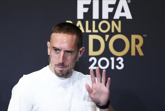 Franck Ribéry feels he deserved to win Ballon d'Or following his successful 2013 with Bayern Munich