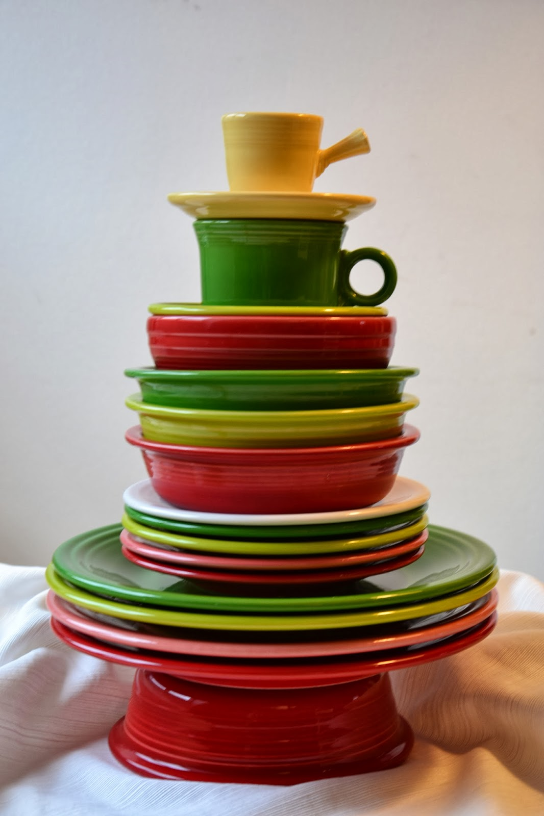 Fiestaware Christmas Plates : fiesta dinnerware christmas tree collection - Pezcame.Com