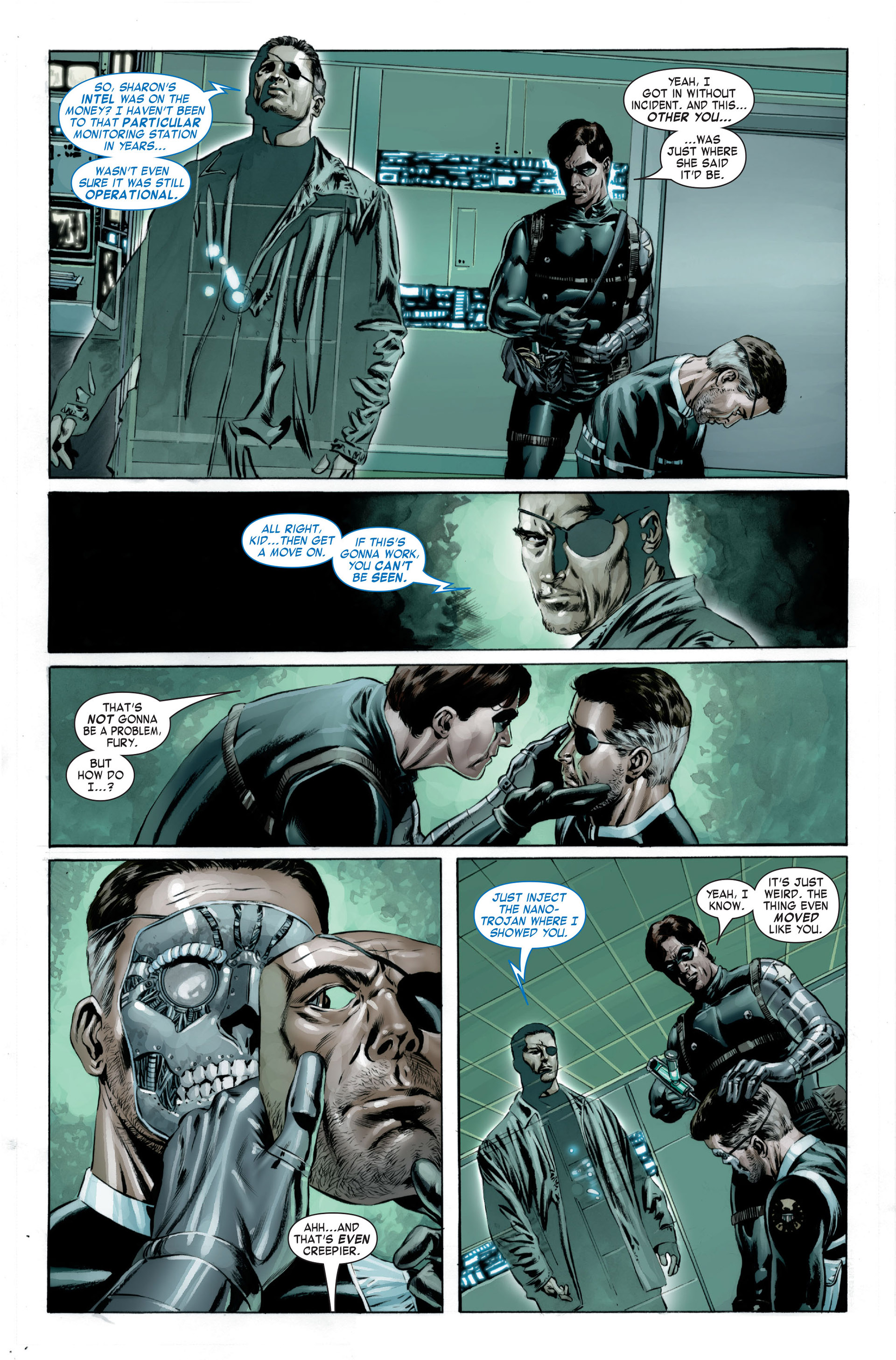 Captain America (2005) Issue #23 #23 - English 6